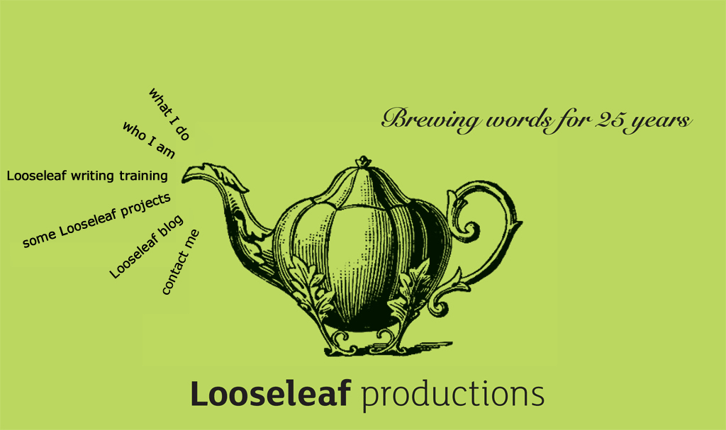 Looseleaf productions: brewing words for 25 years